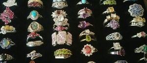 Hugh jewelry lot